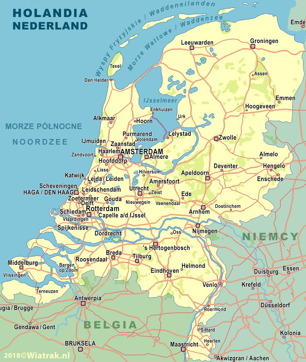 niemcy mapa drogowa