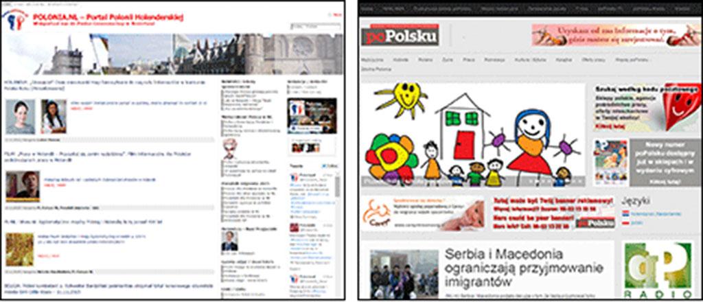 Polskie strony w holandii