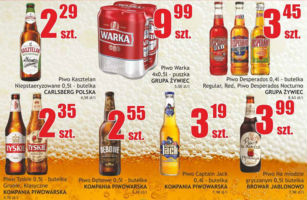 Regionalne Piwo Czyli Swiatowy Handel Etykietami