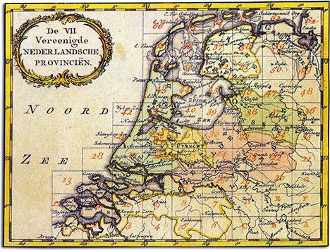 mapa republiki 7 prowincji
