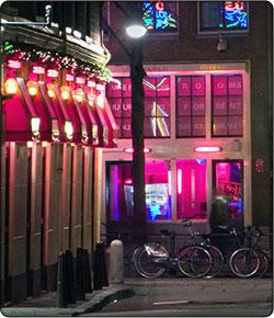 Przewodnik po Amsterdamie - czerwone latarnie