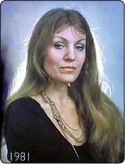 Anna German na rok przed śmiercią
