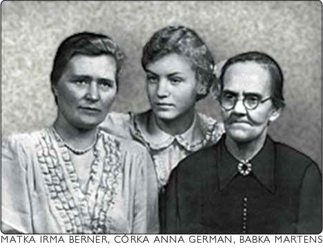 Irma z cóką Anną German i babką