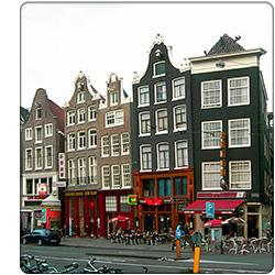 amsterdamskie kamienice