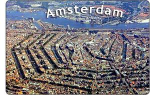 Amsterdamskie kanały-pierścienie