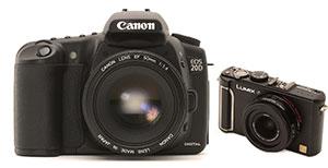 Canon contra Lumix