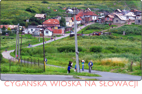 cygańska wioska na Słowacji