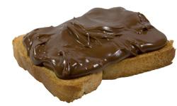 kanapka z czekoladą