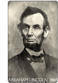 Dagerotyp Lincoln 1864