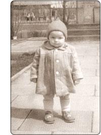 polskie dziecko w 1960 roku