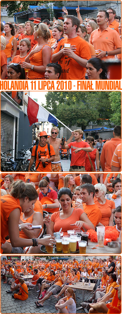 pomarańczowa Holandia