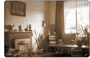 holenderski pokój z piecem, 1960 r.