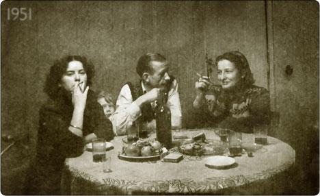 Imprezka w 1951 roku
