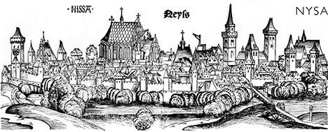 Nysa w XV wieku