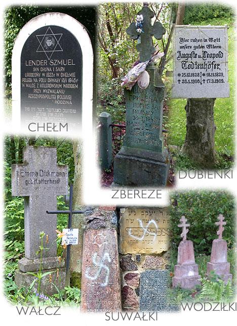 zapomniane groby w Polsce