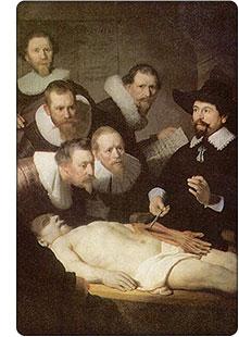 Rembrandt - Lekcja anatomii doktora Tulpa