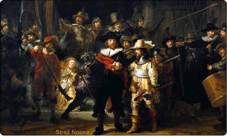 Rembrandt - Straż Nocna