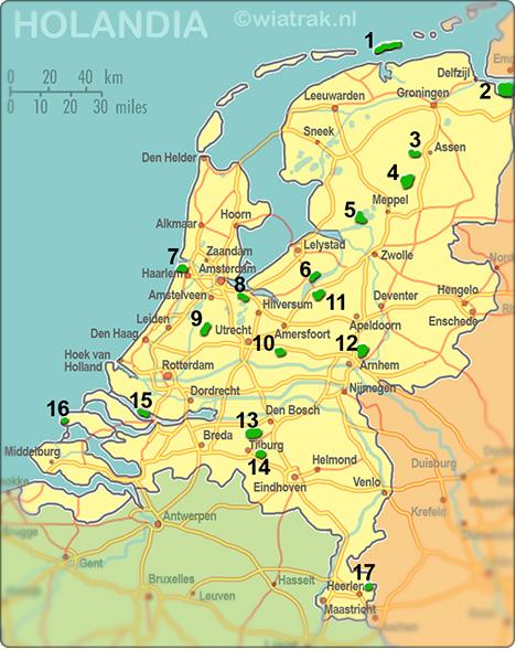 rezerwaty przyrody w Holandii