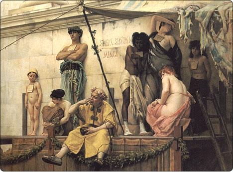 rzymski targ niewolników
