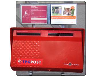 holenderska skrzynka pocztowa w roku 1995