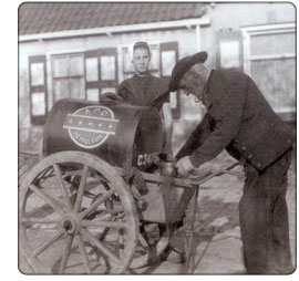 uliczny sprzedawca nafty