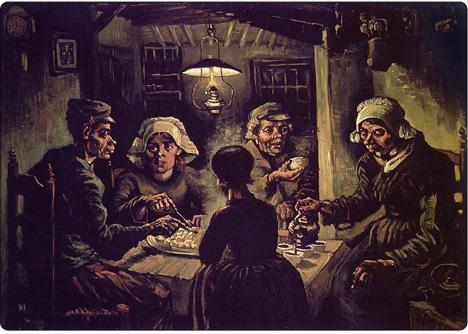 Zjadacze ziemniaków Van Gogh