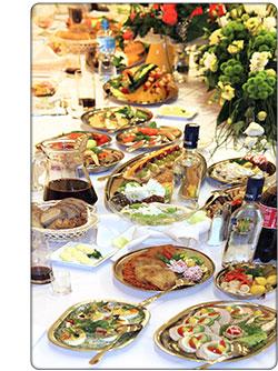 polski stół weselny