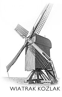 wiatrak typu koźlak