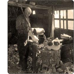 wytwórca chodaków dawniej
