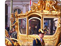 Złota kareta królowej Beatrix